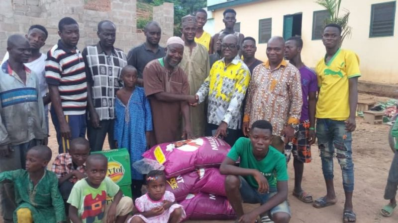 South Dayi District Assembly Fetes With Muslims In The District.