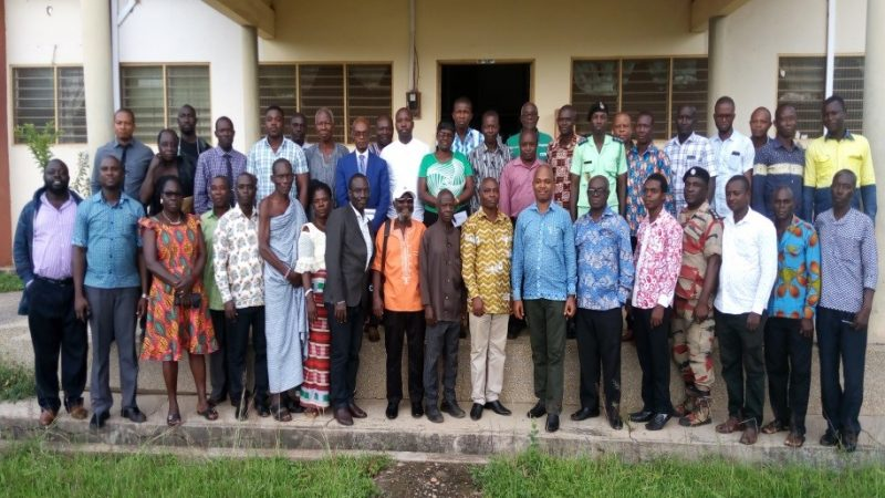 Annual Sensitization Workshop On The Environmental Management Plan (EMP) In The South Dayi District Assembly