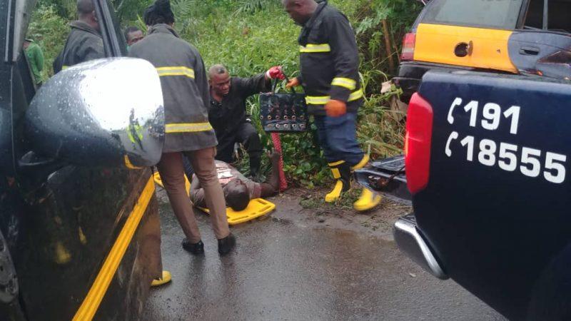Road Accident At Peki-Kpeve Road